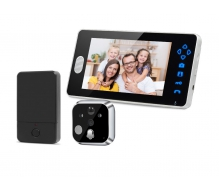 TL-E701A Wireless Door Peephole Camera with Video Intercom