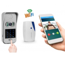 TL-WF02 Smart Wifi Video Doorbell Camera with Remote Unlock and Duplex Intercom