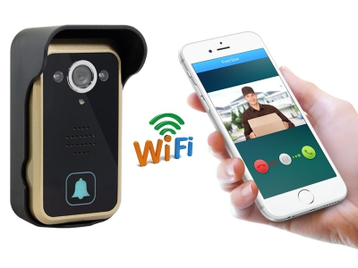 TL-WF01 Wifi Video Door Bell Camera with Remote Unlock and Motion Detection